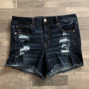 American Eagle Super Stretch Hi-Rise Jean Shorts 8